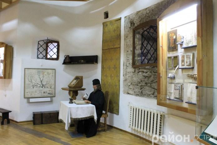 Писар в експозиції музею