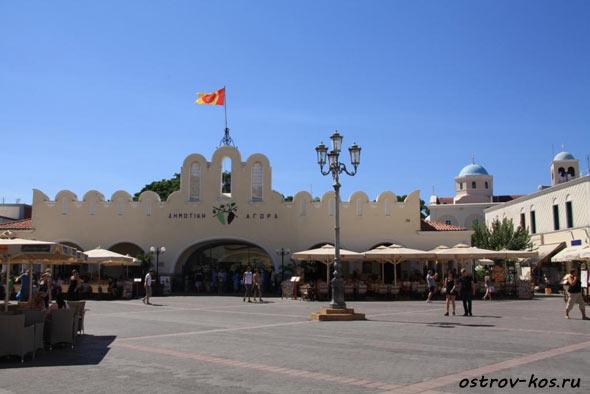рынок Кос фото