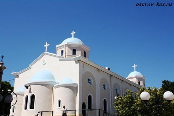 церковь Кос фото