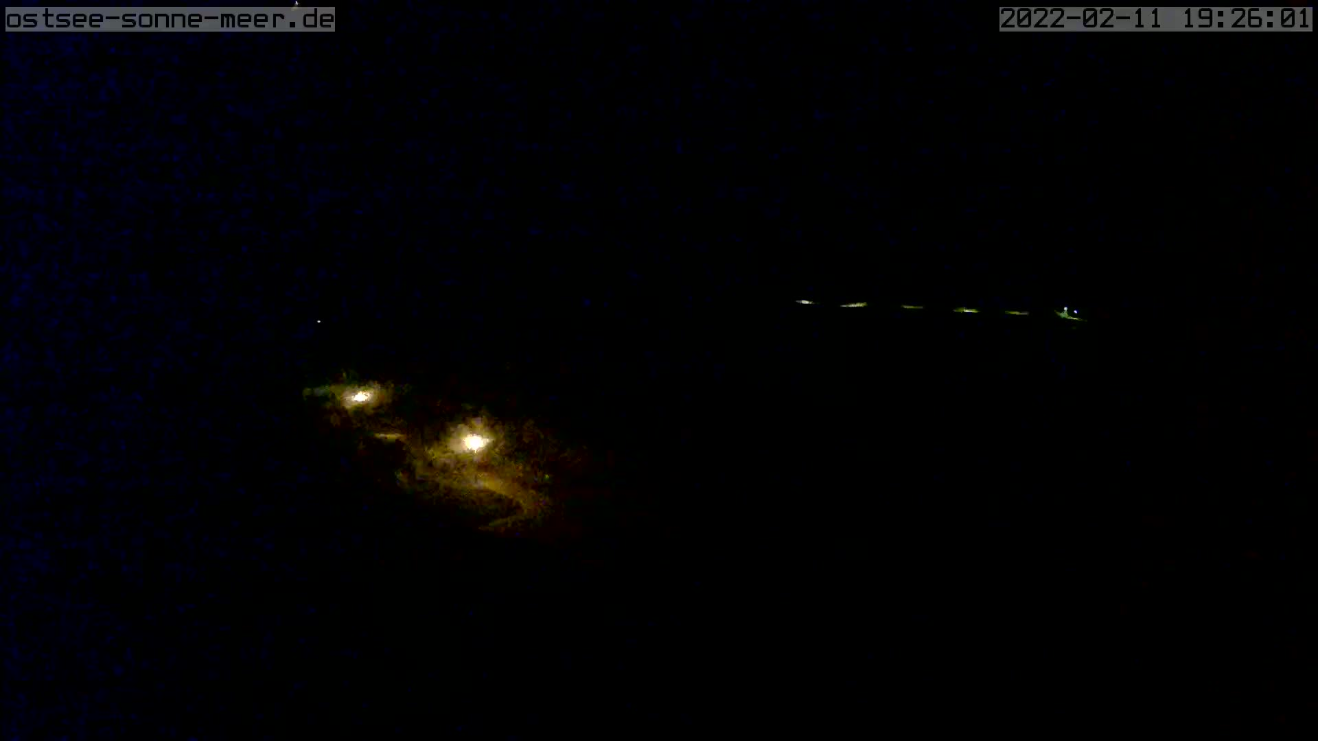 Webcam  Ostsee  Sonne  Meer