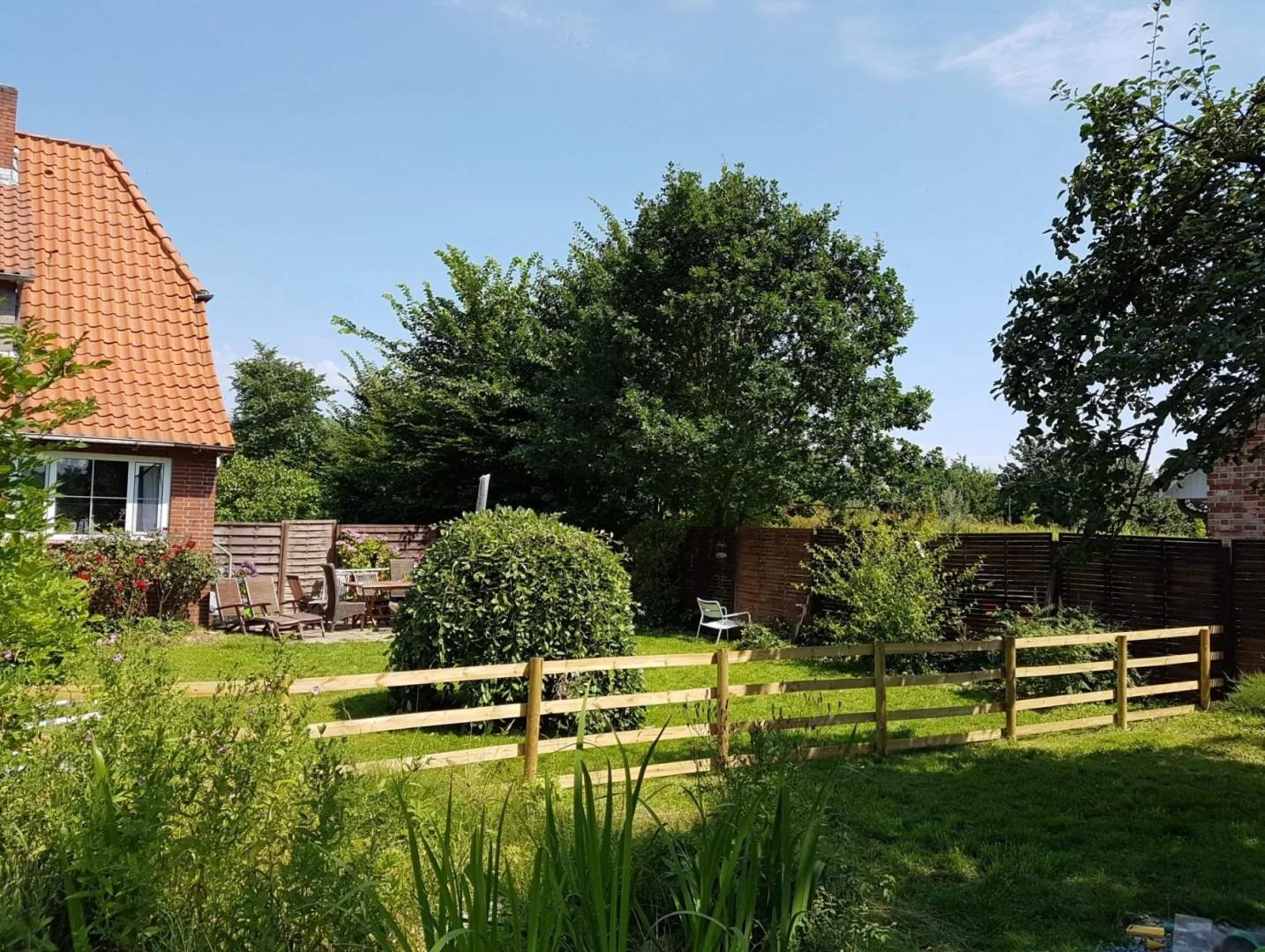 Ferienhaus kiek-ut 1 Garten