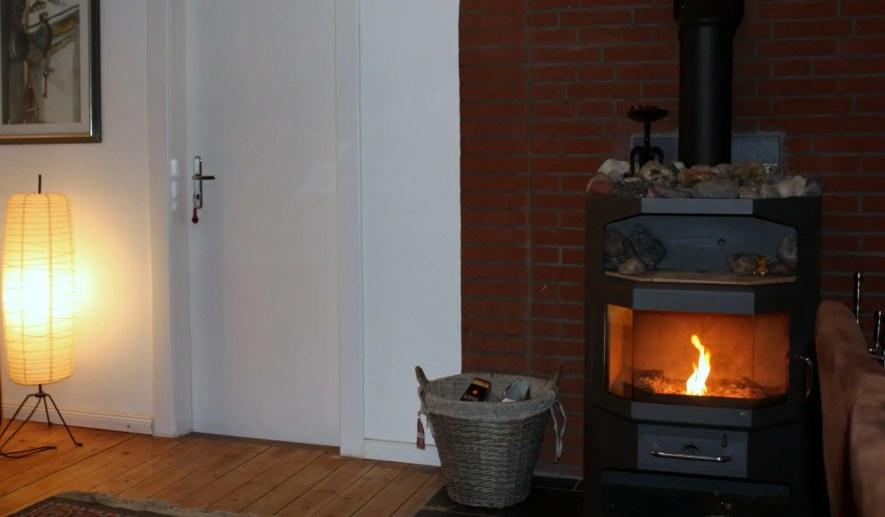 Ferienhaus kiek-ut 1 Kamin