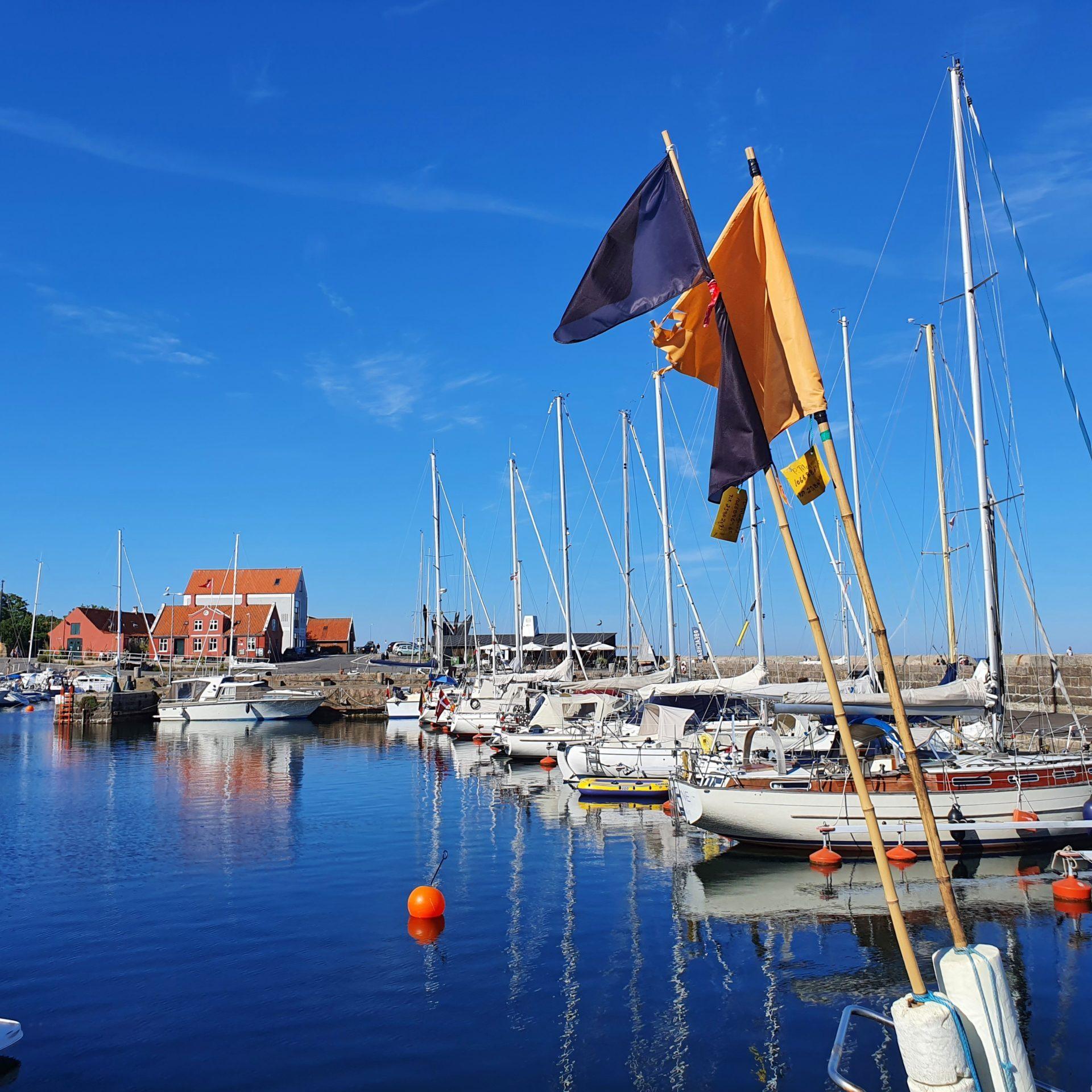 Svaneke: Hafen