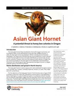 Cover of OSU Publication EM 9297