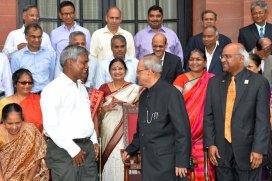 ISI alumni meet President Mukherjee