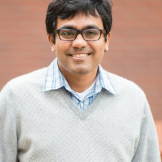 Dr. Debashis Mondal will be promoted to Associate Professor of Statistics and granted indefinite tenure, effective, September 16, 2017.