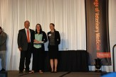 Award for Proficiency in Emergency & Critical Care sponsored by Zoetis & the Veterinary Emergency & Critical Care Society (VECCS) - Mr. John Herkner, Ashley Crowley, Dr. Kristy Earley-Murray