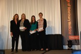 Pet Memorial Program Academic Excellence Award - Sue Tornquist , Christy Sandquist, Danielle Butler Rebecca Sullivan