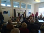 Monica Wehby and Tom Coburn campaign stop in Salem.
