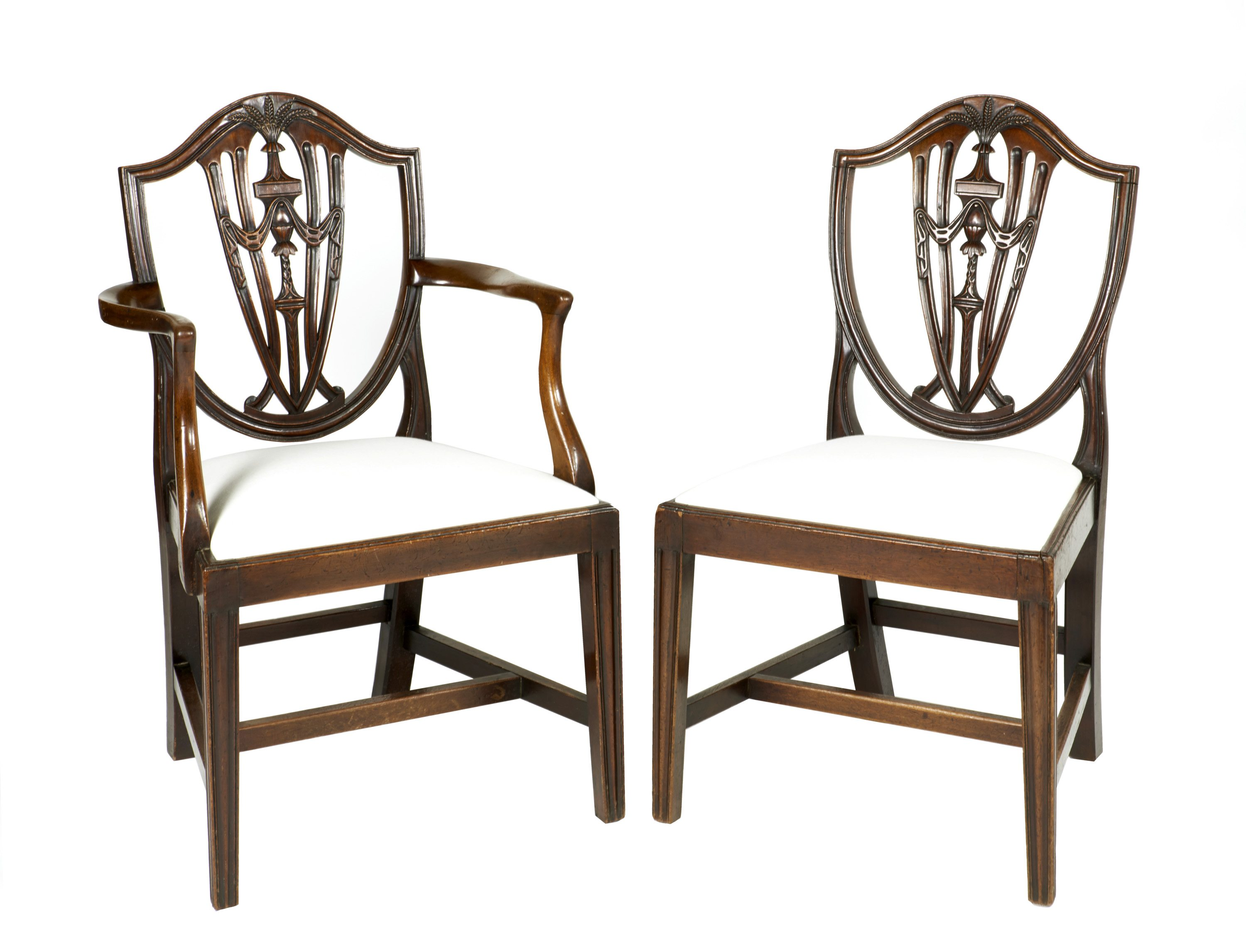 Hepplewhite Chair 9369 Early 19th Century Set Of Eight Dining Chairs After
