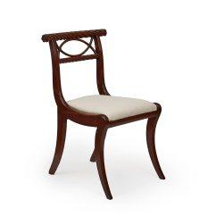 Dining Chair Covers Cork Cover Express Ann Arbor 9837 Early 19th Century Regency Nelson Set Of Six