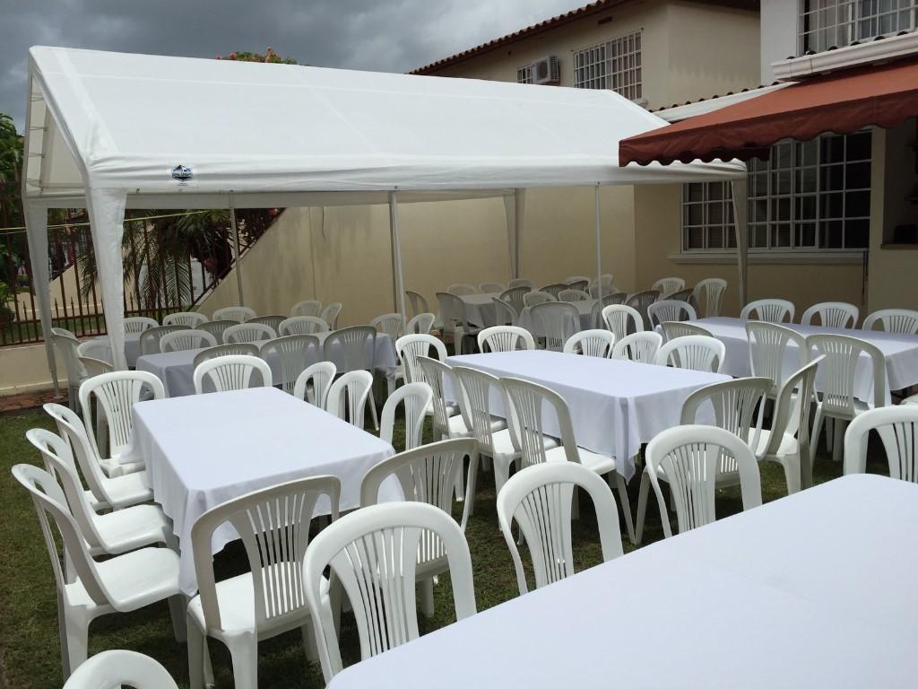 Alquiler de sillas mesas  servicios auxiliares