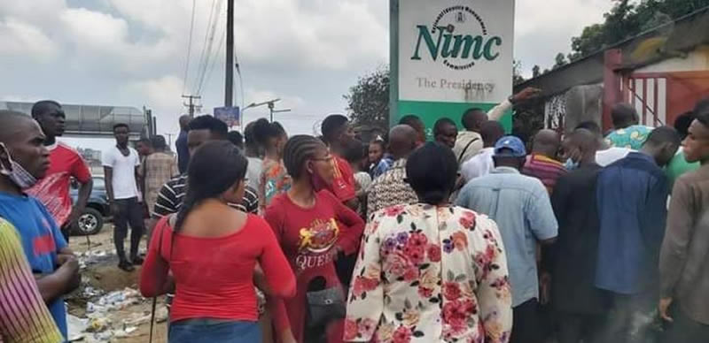NIN: NIMC workers commence strike over funding, exposure to COVID-19