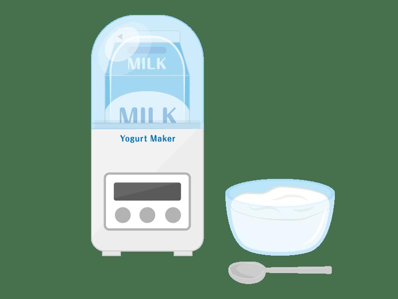 牛乳パックで作れるヨーグルトメーカー