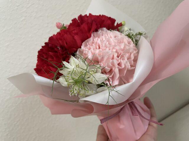 母の日おしゃれ安い花束ニゲラ