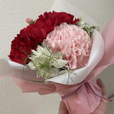 母の日おしゃれ安い花束取り出し方5