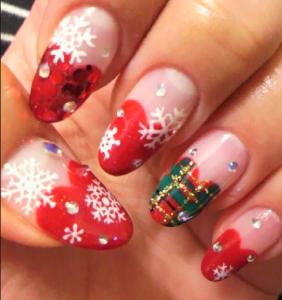 クリスマスネイル,かわいい