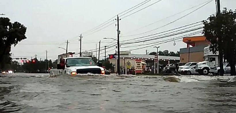 HOUSTON FLOODING TROPICAL STORM