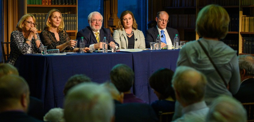 GEORGETOWN UNIVERSITY PANEL DIALOGUE