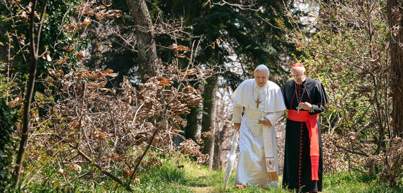SCENE MOVIE 'THE TWO POPES'