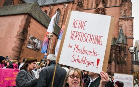 GERMANY SEXUAL ABUSE PROTEST
