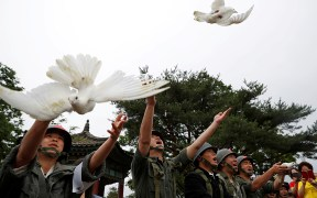 KOREAN WAR COMMEMORATE 70TH ANNIVERSARY