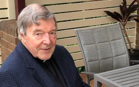 FILE PHOTO AUSTRALIAN CARDINAL GEORGE PELL