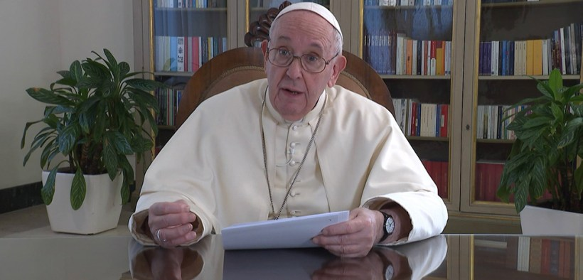 POPE MESSAGE TED EVENT