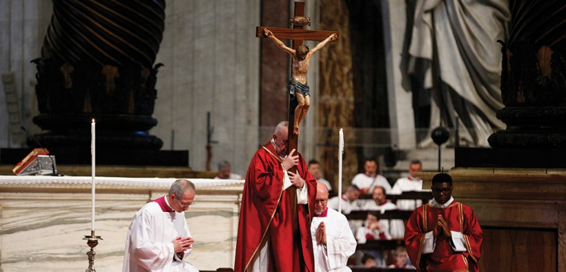 POPE FRANCIS GOOD FRIDAY