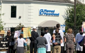 PROTEST PLANNED PARENTHOOD NORTH CAROLINA