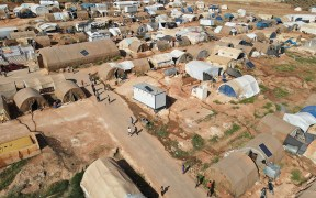 DISPLACED SYRIANS CAMP