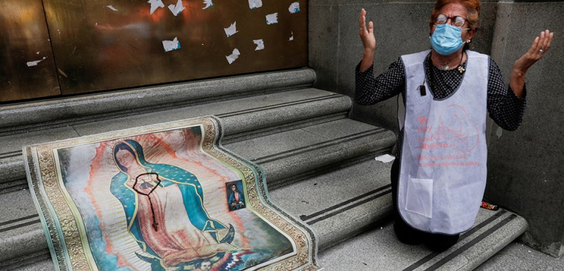 MEXICO ABORTION DEMONSTRATOR