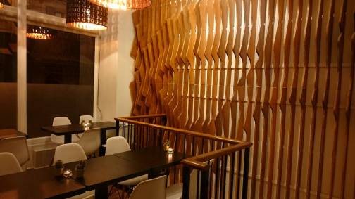 Final interior design