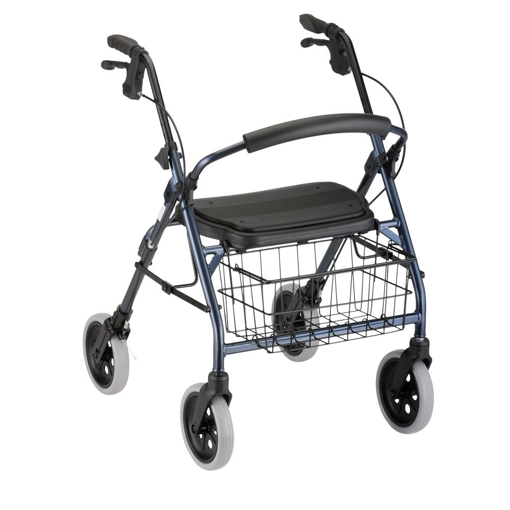 nova transport chair skull adirondack cruiser deluxe rolling walker - oswald's pharmacy