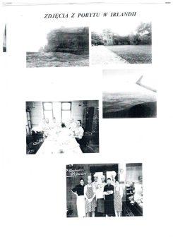 Zdjęcia z pobytu w Irlandii G.Orzechowska
