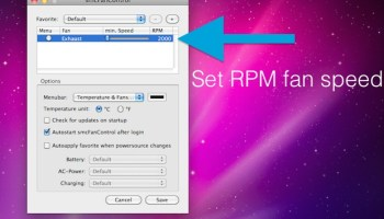 How to Adjust Mac Fan Speed Manually with Macs Fan Control