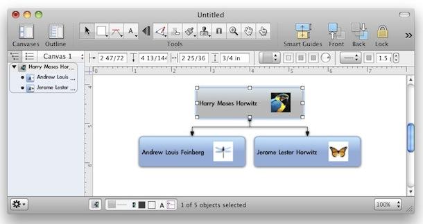 альтернатива Visio для Mac