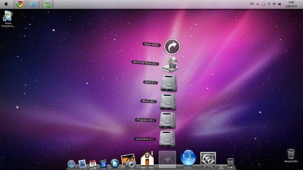 Mac Theme Windows 7