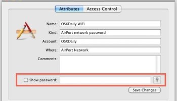 How to Find Wi-Fi Network Passwords from Command Line on Mac