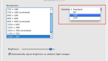 Rotate MacBook Display Orientation | OSXDaily
