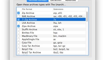 Open and UnRar RAR Files on a Mac