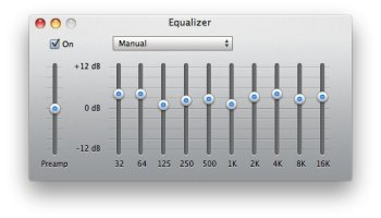 How to set custom equalizer settings on the iPhone and iPod