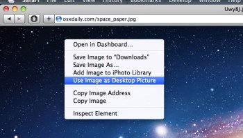 How to Tile Desktop Background Wallpaper in Mac OS X
