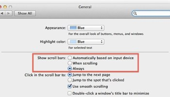 Disable Elastic (Rubber Band) Scrolling in Mac OS X | OSXDaily