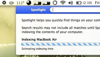 Disable Spotlight in Mac OS X 10 6 Snow Leopard