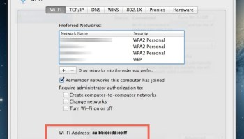 How to Spoof your MAC Address in Mac OS X