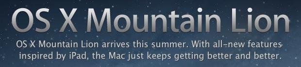 Mac OS X 10.8 Release Date