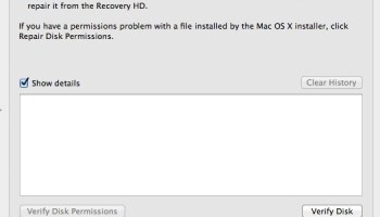 Check Hard Drive Health of a Mac with Disk Utility