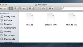 How to Access Attachment Files in Messages App from Mac OS X