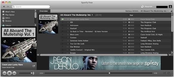Mac Spotify client